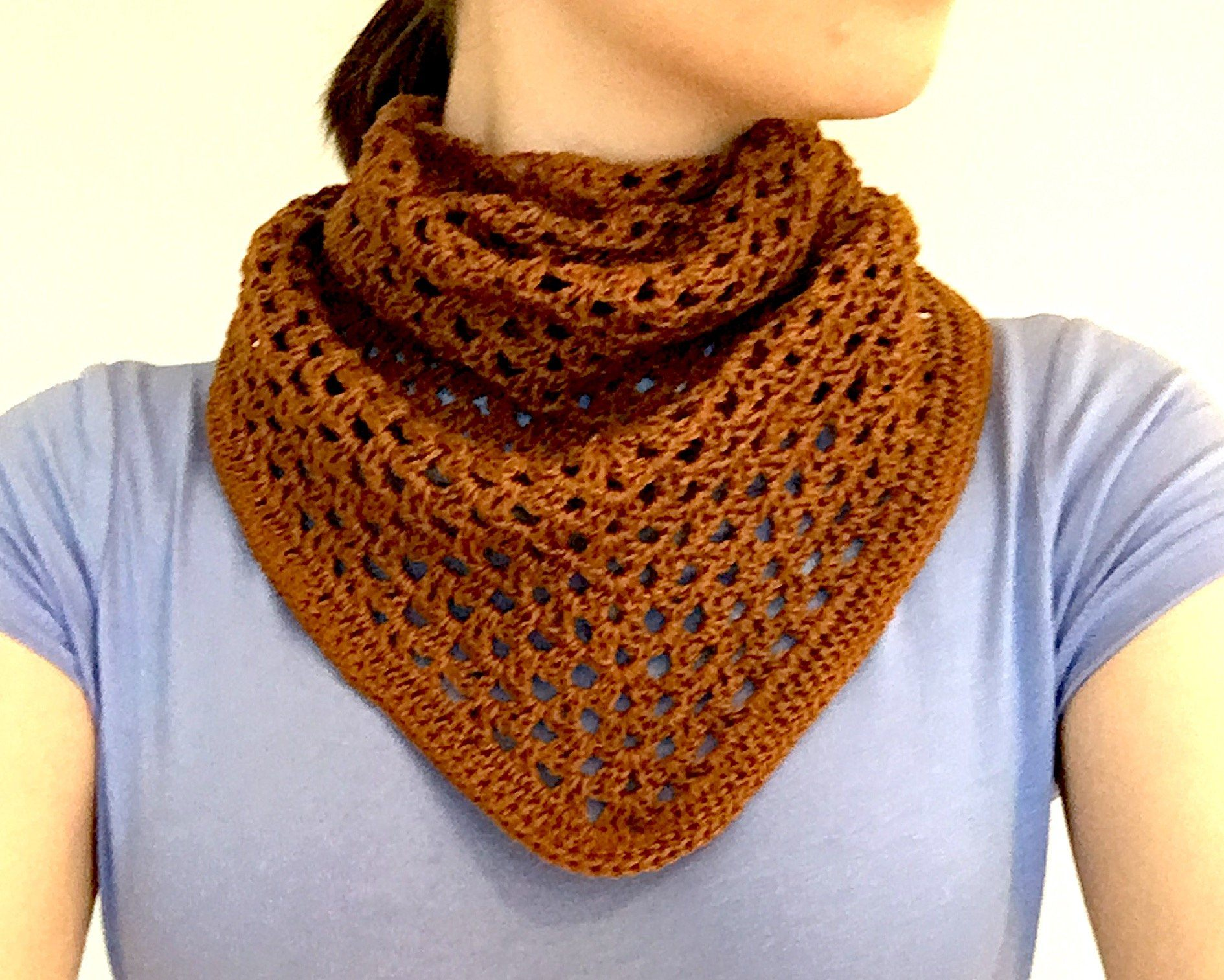 Autumn Gold Shawl Pattern PDF Download