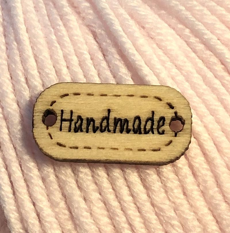 Handmade Sew-On Tag