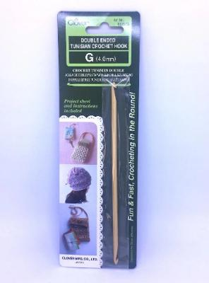 CLOVER DOUBLED ENDED TUNISIAN CROCHET HOOK 4.00mm