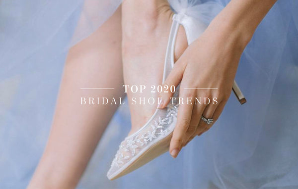 Top 2020 Bridal Shoe Trends