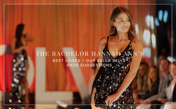 bella belle bachelor hannah ann fashion looks