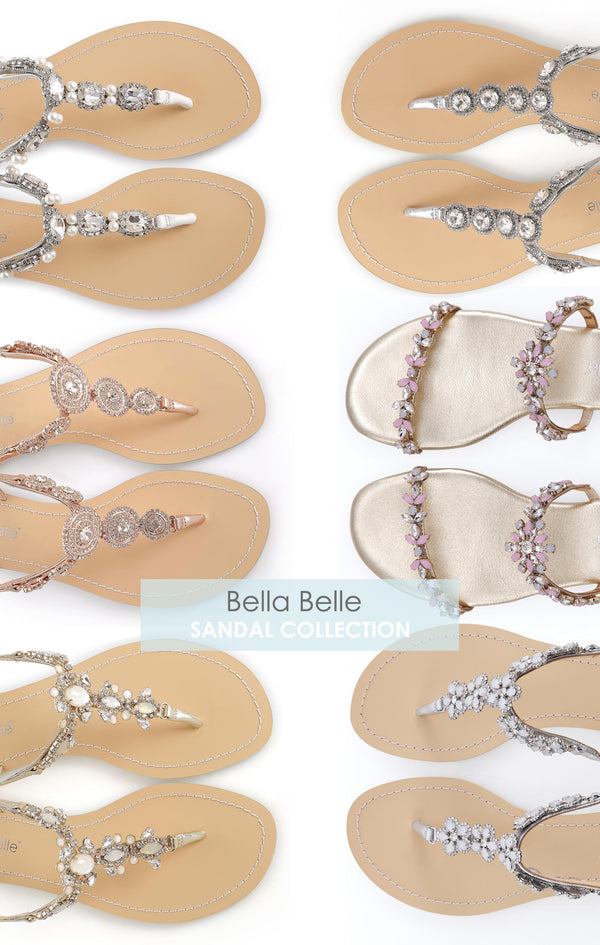 Bella Belle wedding sandals collection