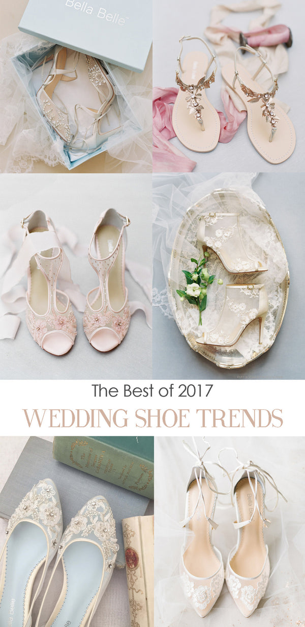 The best of 2017 Wedding Shoe Trends