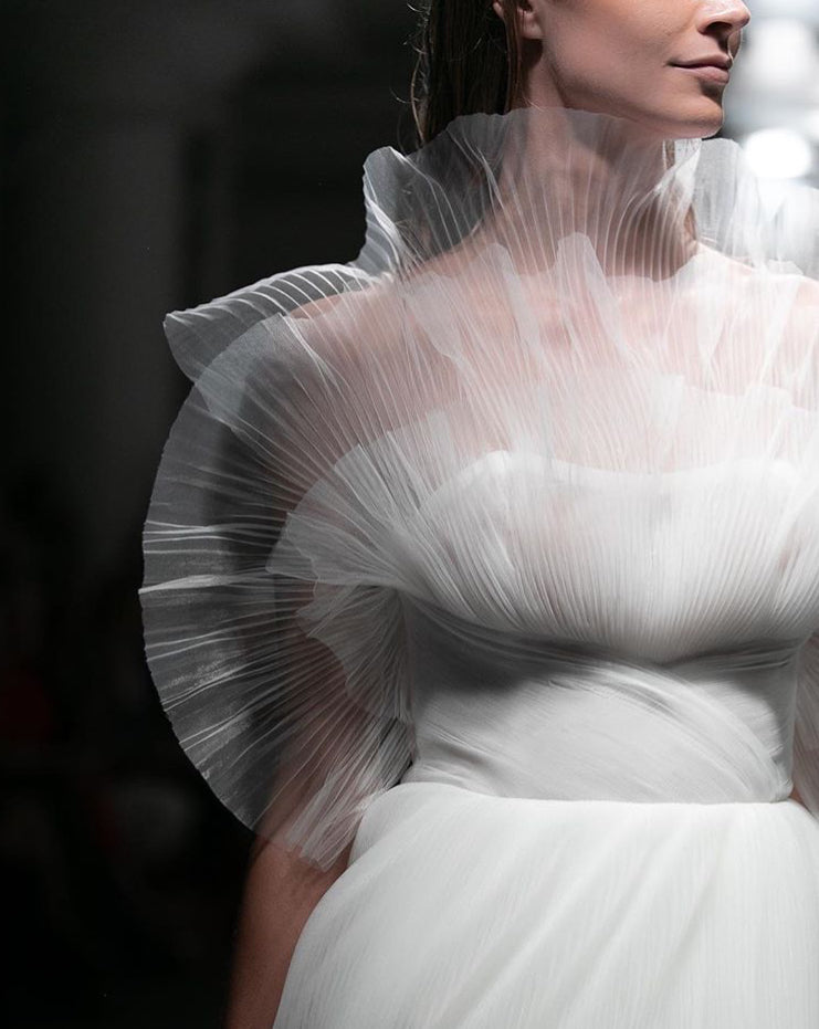 6d8b6bf1590 NYBFW 2019 - Latest Bridal Trends