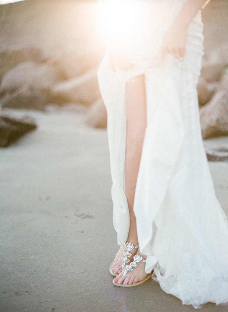SUMMER INSPIRED BEACH WEDDING AT GALVESTON ISLAND