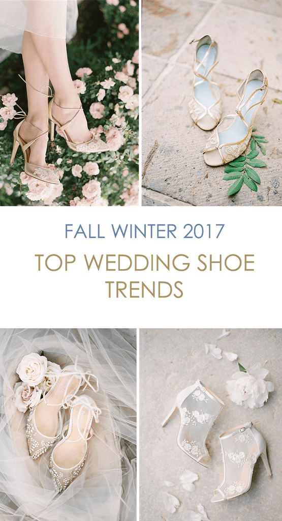 Fall/Winter 2017 Hottest Wedding Shoe Trends