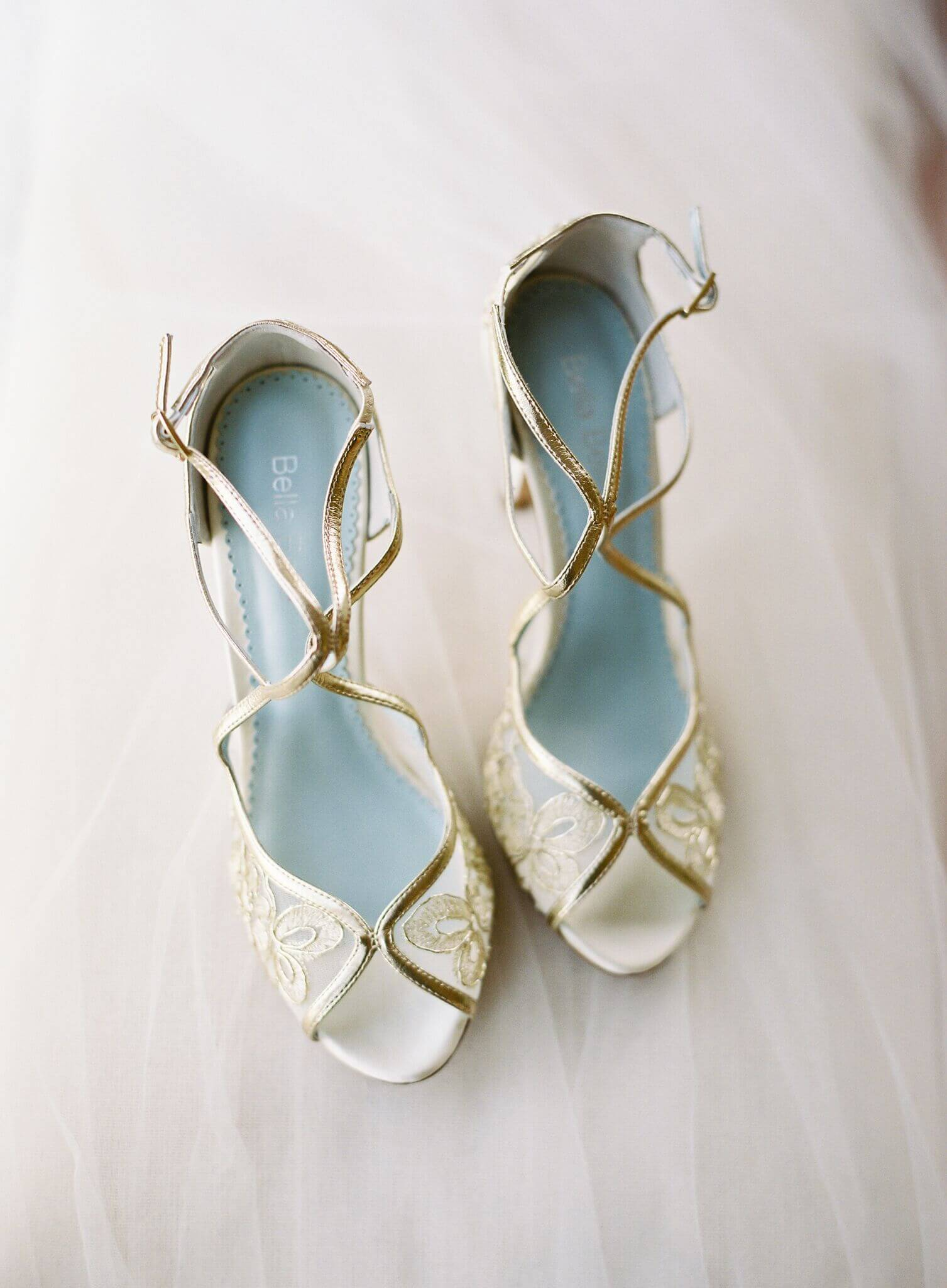 bella belle gold wedding shoes