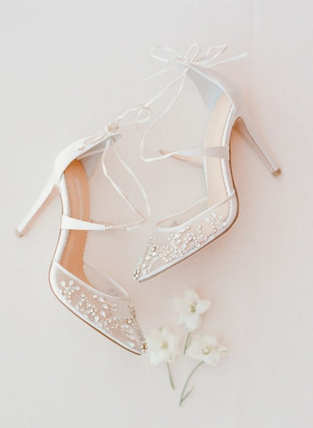 Bella Belle florence crystal embellished wedding shoe