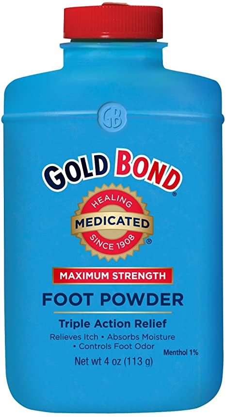 bella belle foot powder