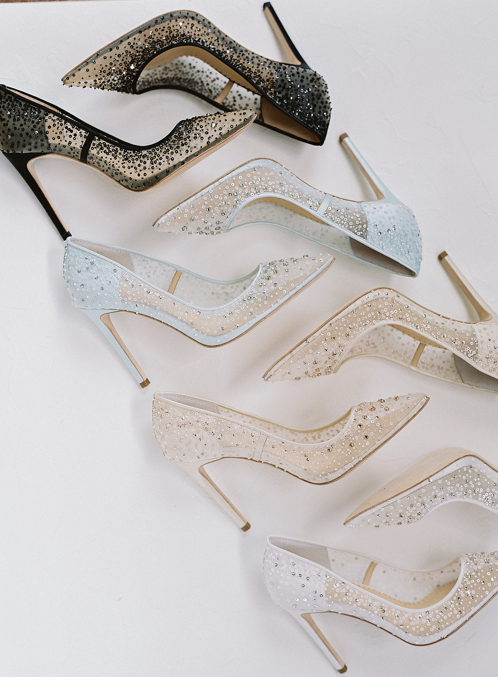 bella belle elsa sequin crystal designer wedding shoe