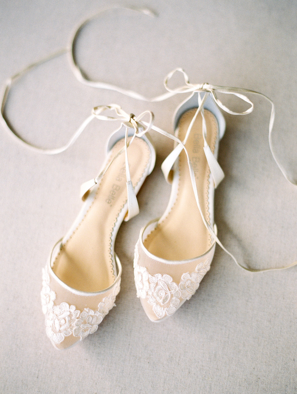 bella belle shoes alicia ballerina flats ivory wedding flats