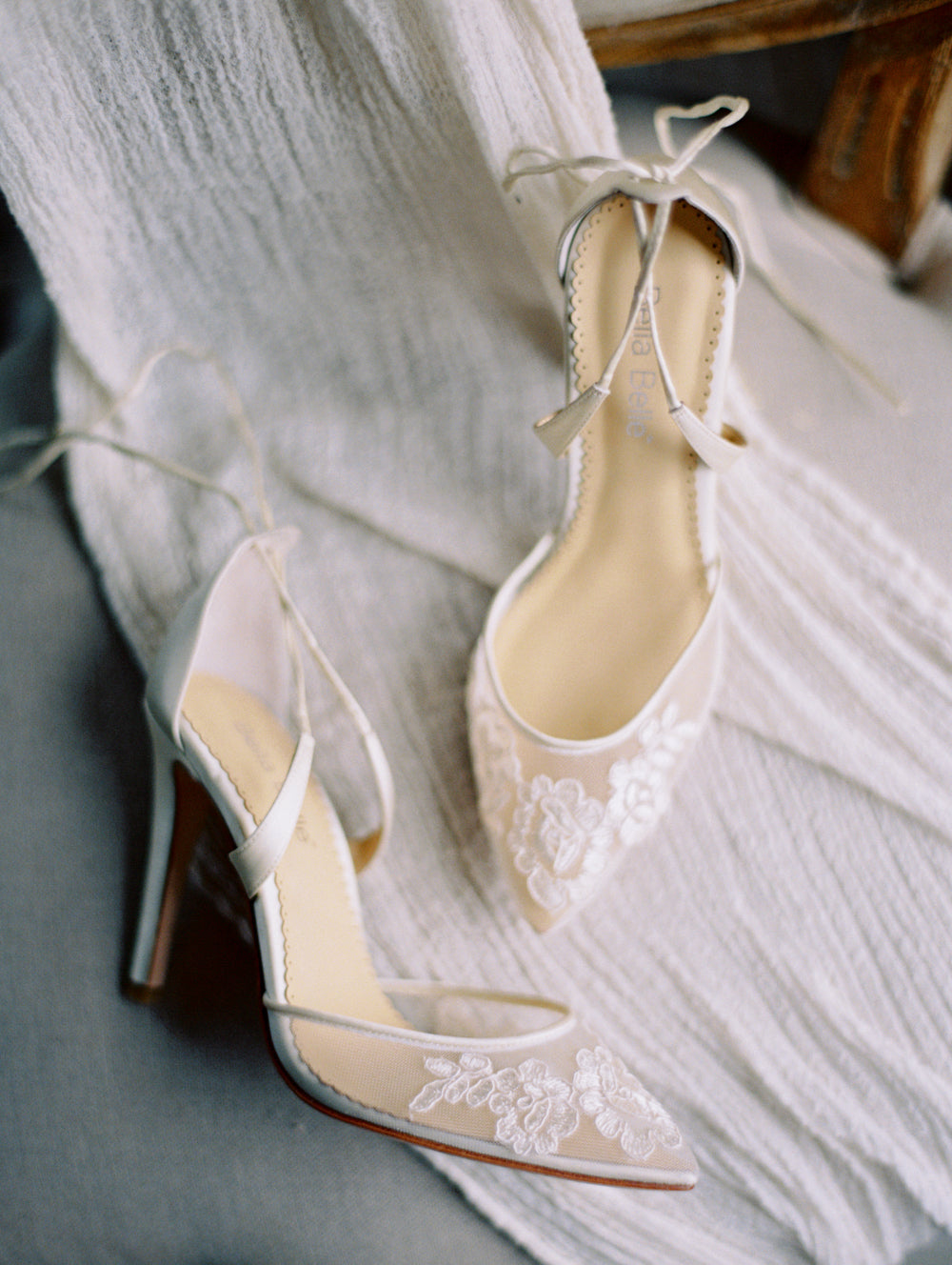 bella belle shoes anita ivory lace wedding shoe