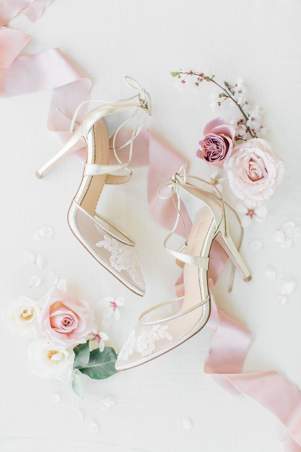 bella belle shoes anita gold lace wedding shoe
