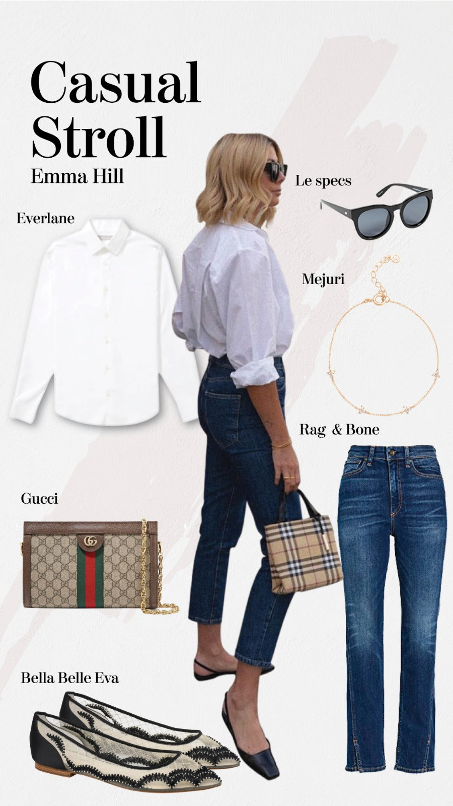 Bella Belle casual stroll comfortable wear Emma Hill