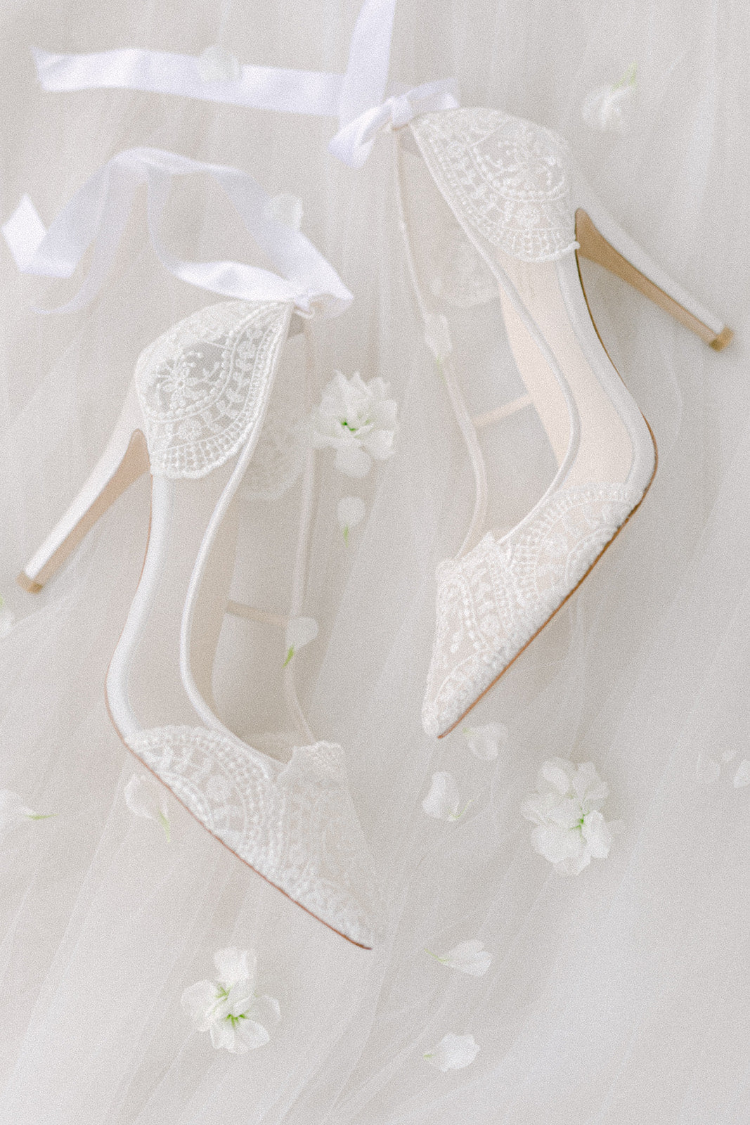 Bella Belle Giselle Lace Wedding Shoe