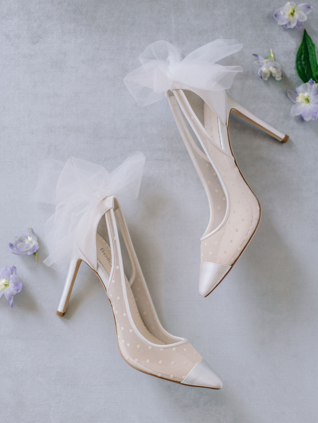 Bella Belle Matilda wedding heels in a slingback