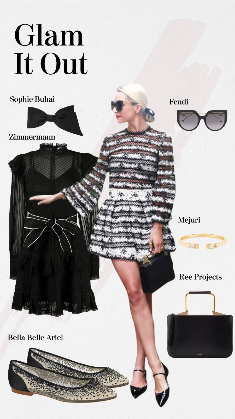 Bella Belle glam outfit