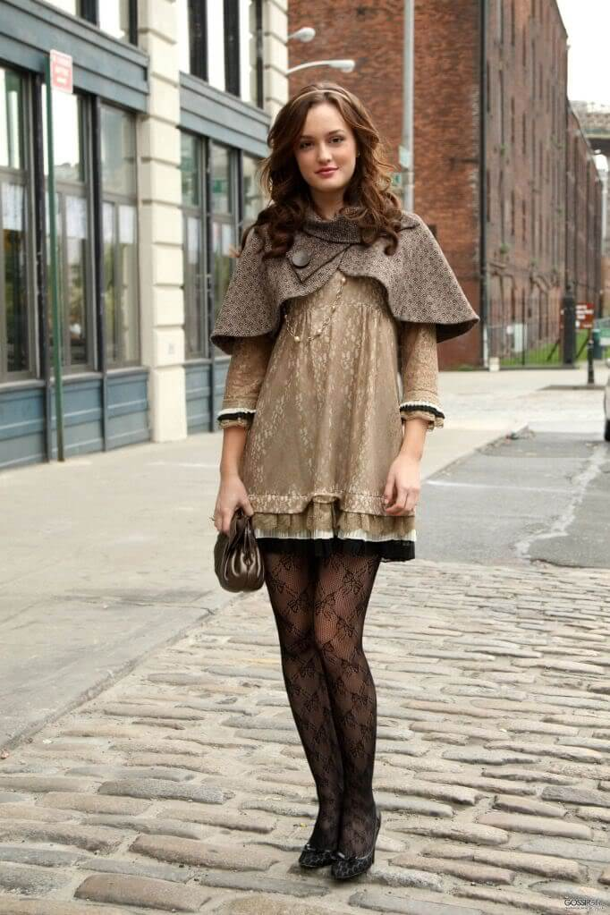 Gossip Girl Fashion Look