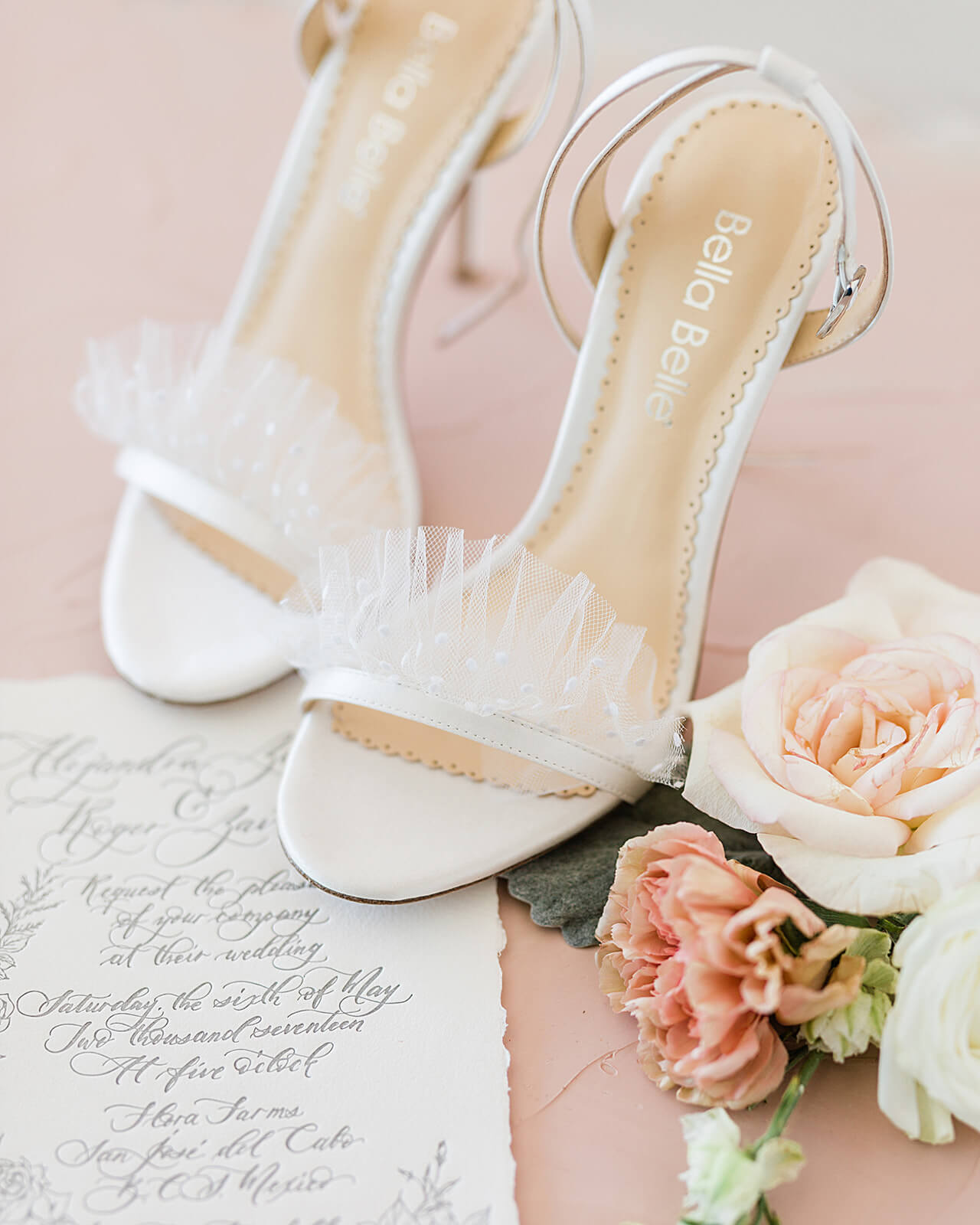 bella belle polka dot wedding stiletto