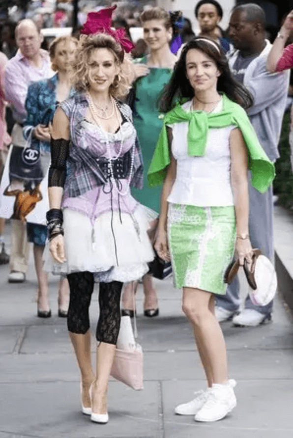 carrie bradshaw worst satc outfit