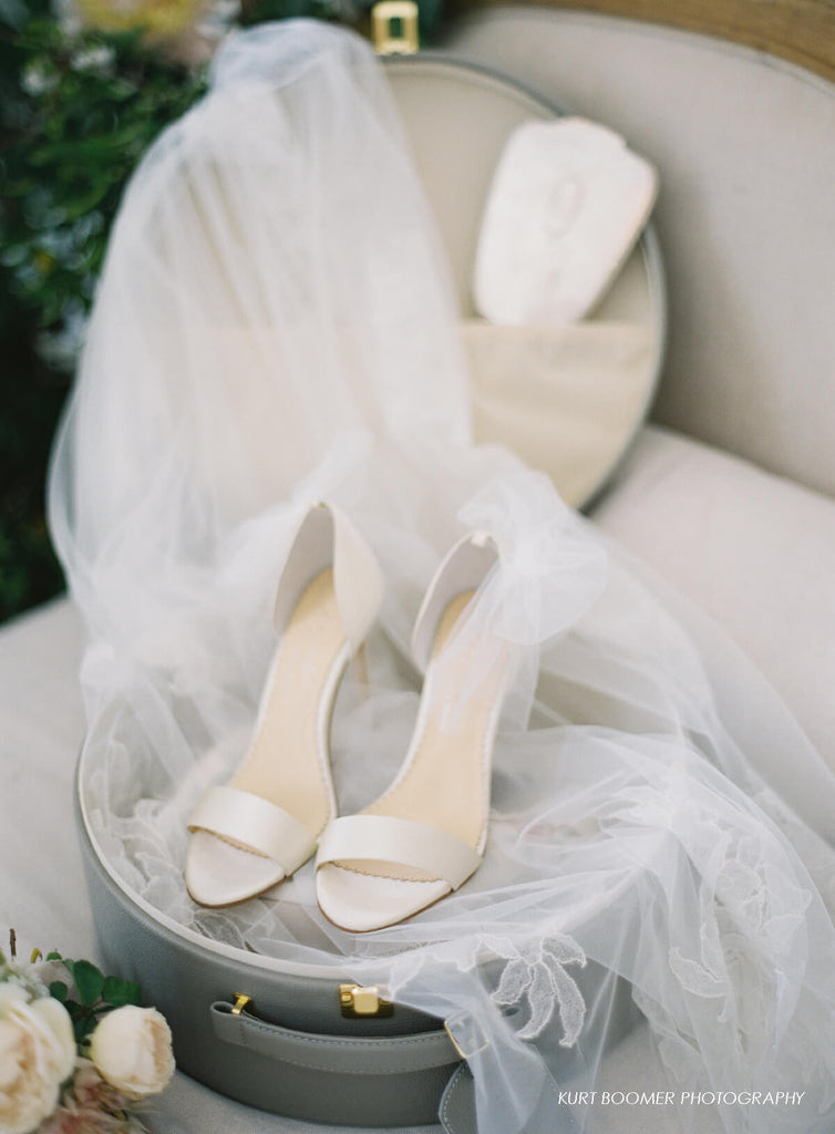 Elise bridal heel by Joy Proctor for Bella Belle