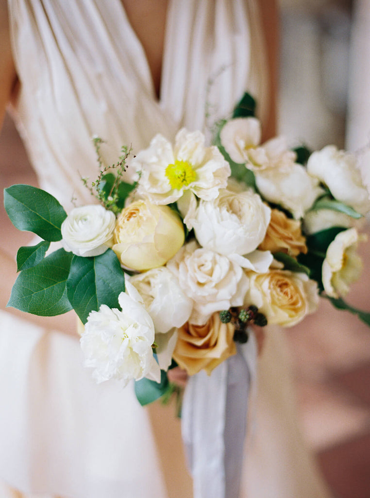Beautiful blooms for the bride