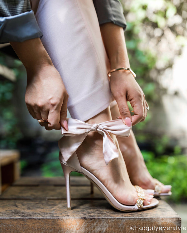 bella belle shoes influencer happily ever styles mariee blush gold crystal rose gold wedding shoe by liv hart