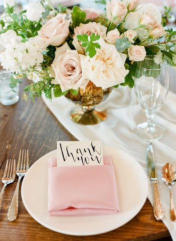Table placement wedding decor