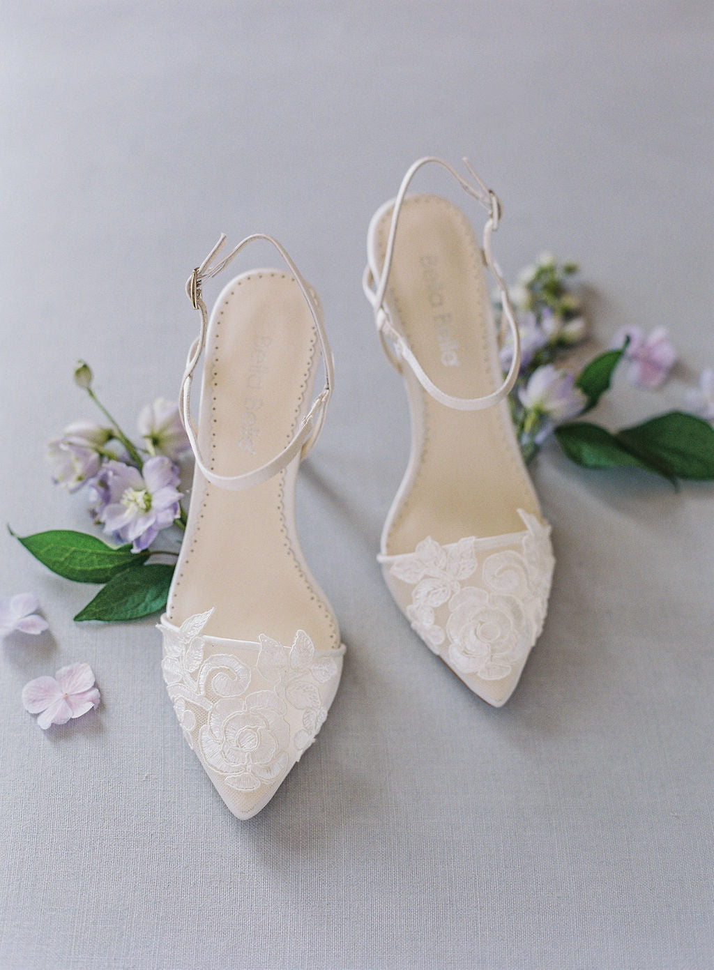 bella belle shoes sylvia lace wedding shoe