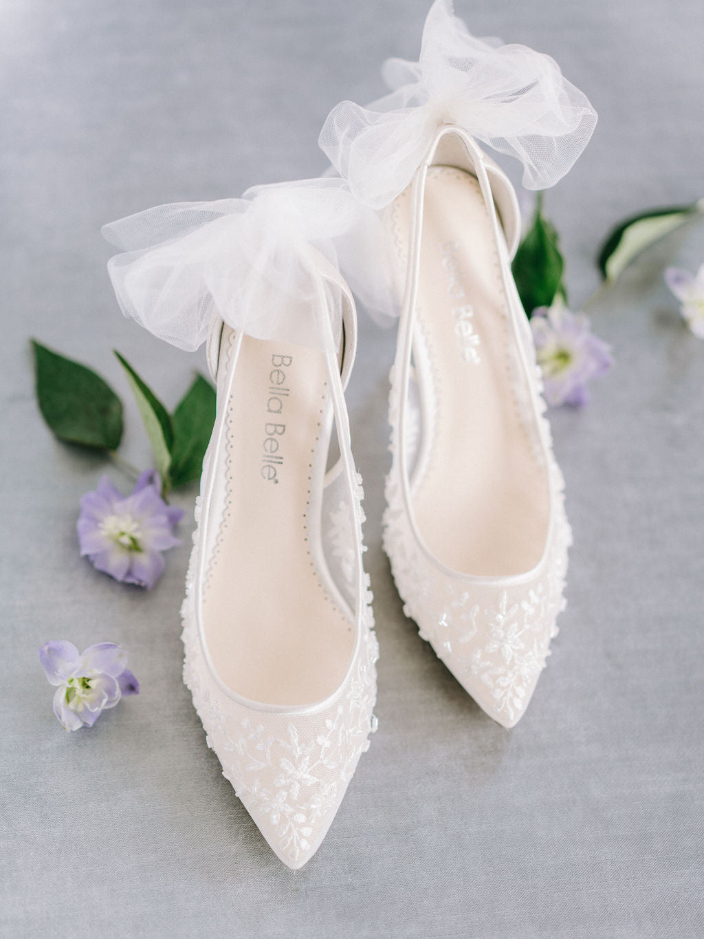 bella belle bridal trend tulle wedding shoes edna