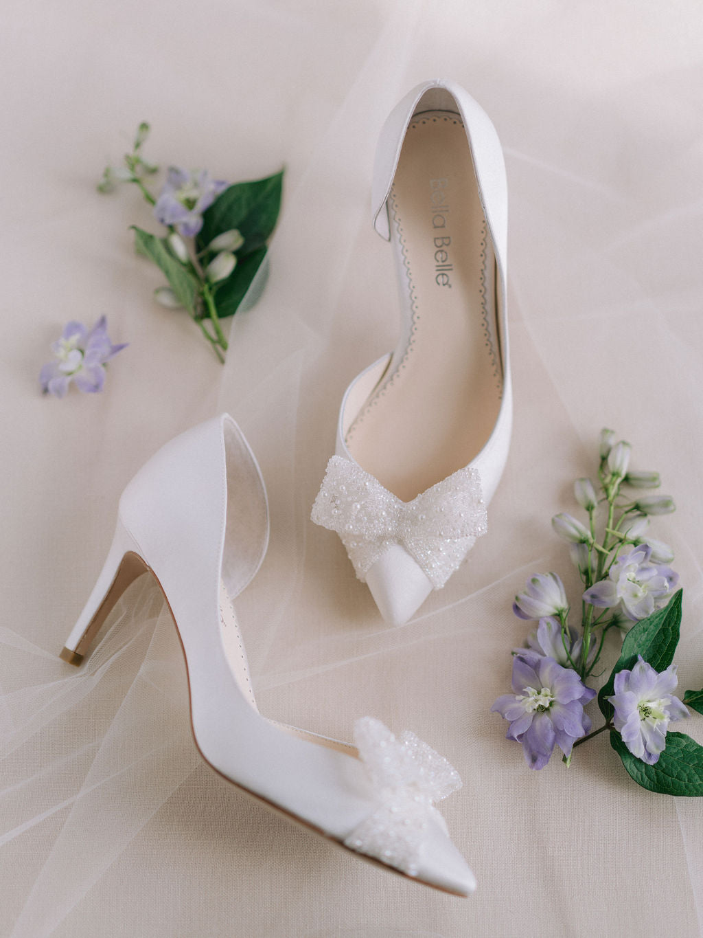 bella belle bridal trend bow wedding shoes dorothy 2020