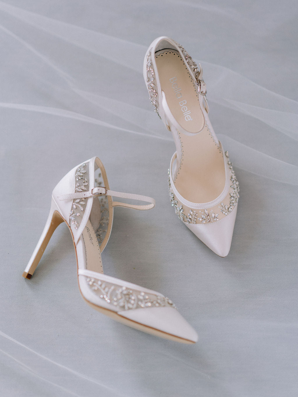 bella belle bridal trends crystal embellished wedding shoes 2020