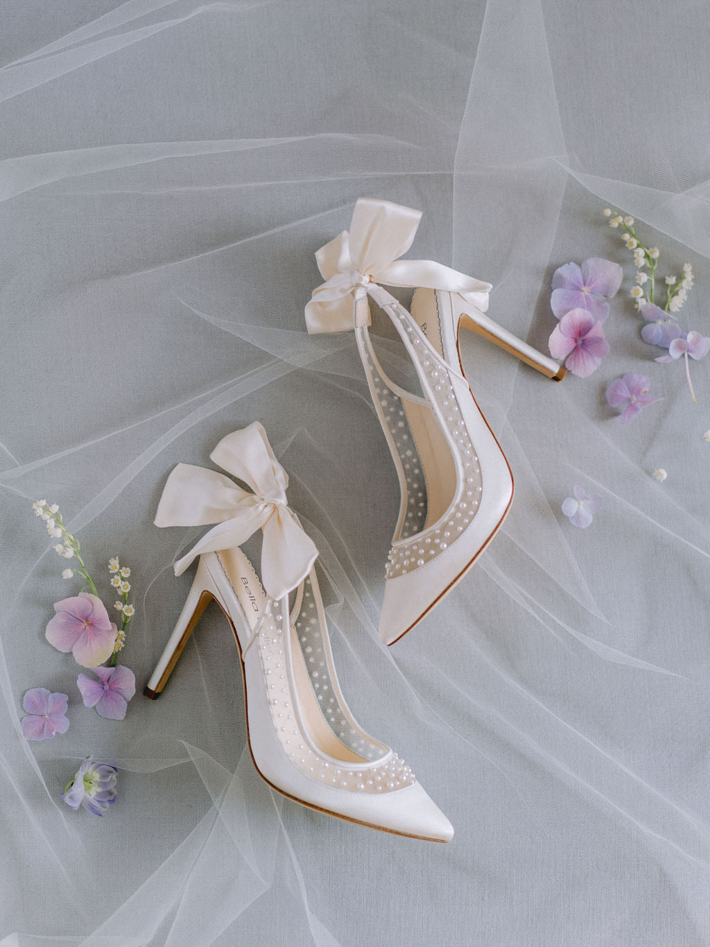 bella belle bridal trend pearl wedding shoes 2020