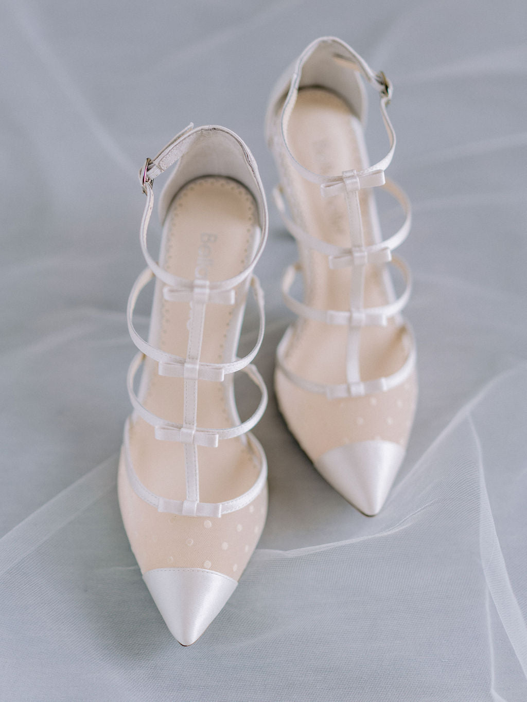 bella belle bridal trend polka dot wedding shoes 2020