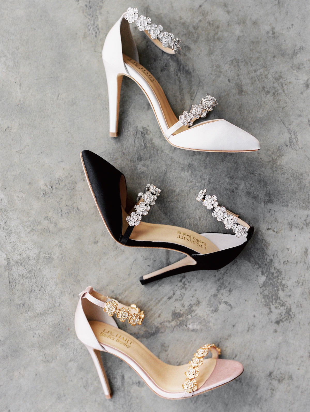 bella belle bridesmaids shoes