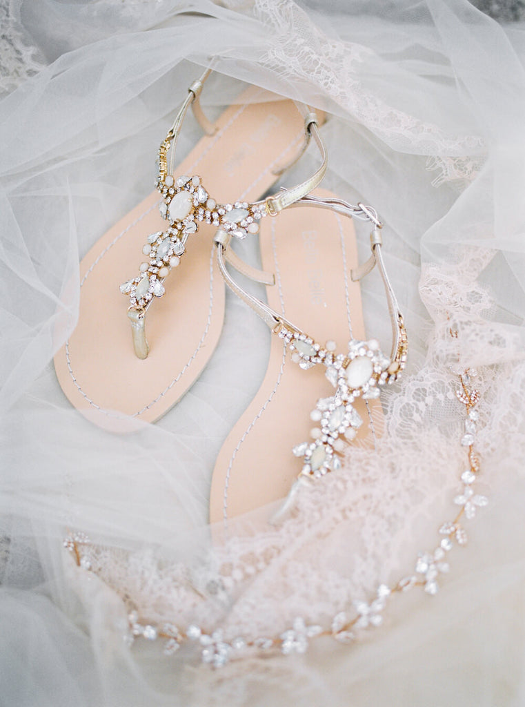 Bella Belle Luna wedding Sandal