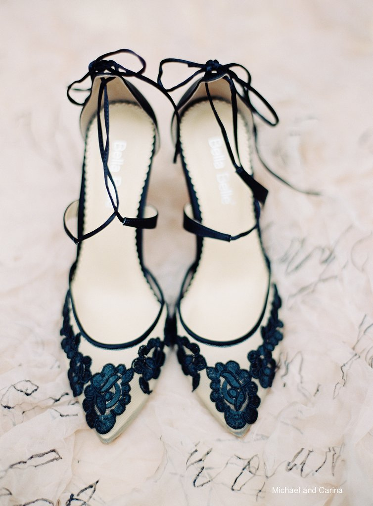 bella belle anita black lace evening shoes