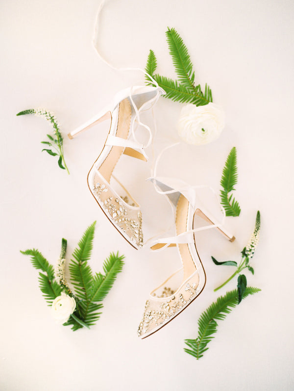Bella belle florence crystal embellished wedding heel