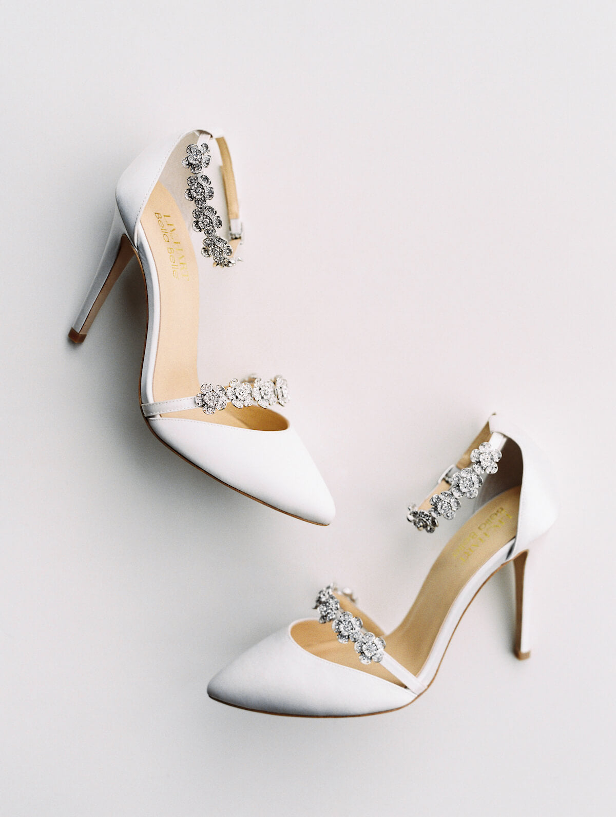 bella belle olivia ivory wedding shoe