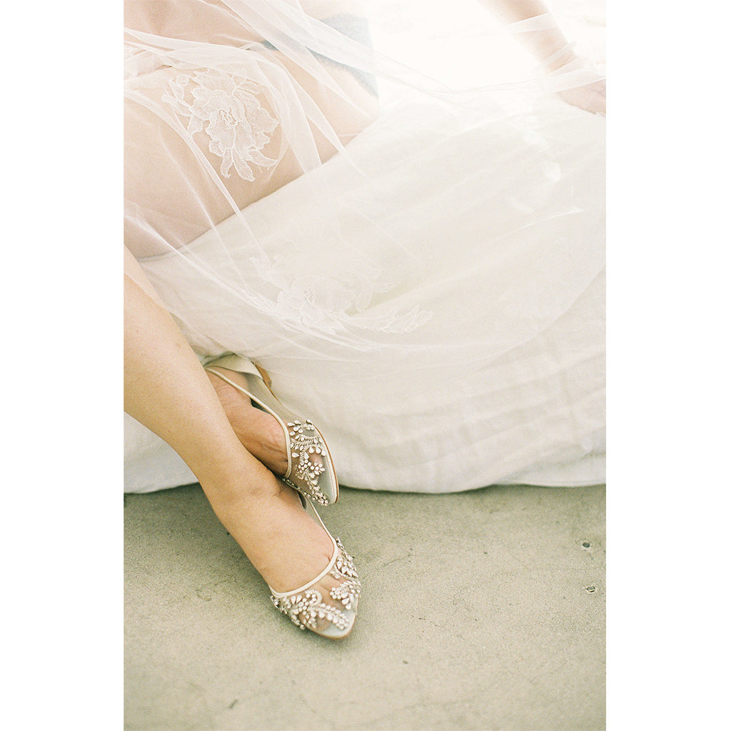 Willow Wedding flat by Bella Belle