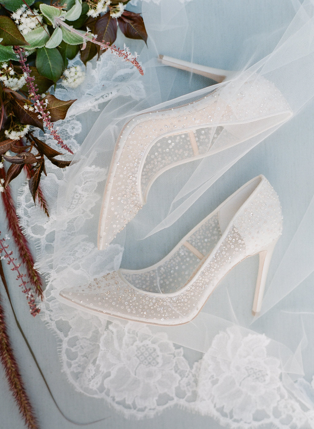 bella belle elsa ivory sequin crystal designer wedding shoe