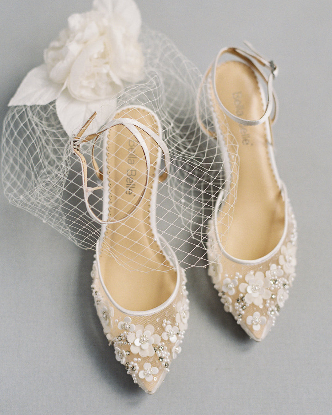 Rosa from Bella Belle wedding shoes.