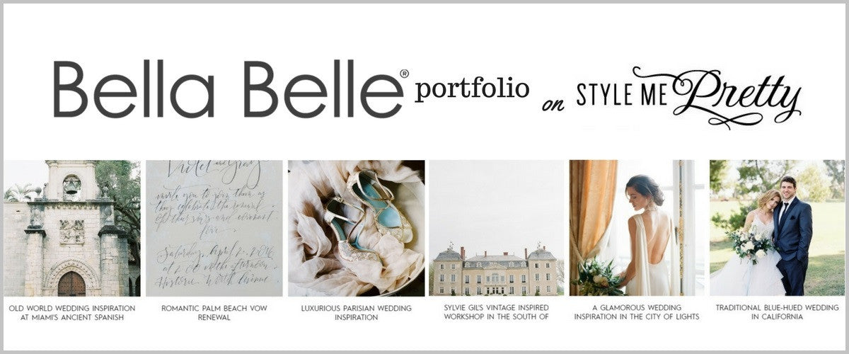 Check Out Full Bella Belle Features on Style Me Pretty for Wedding Inspiration