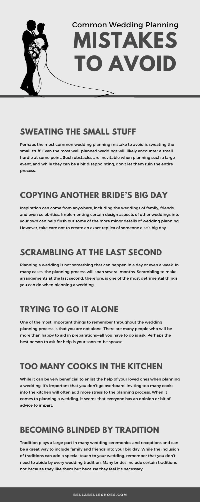Wedding Planning Mistakes to Avoid