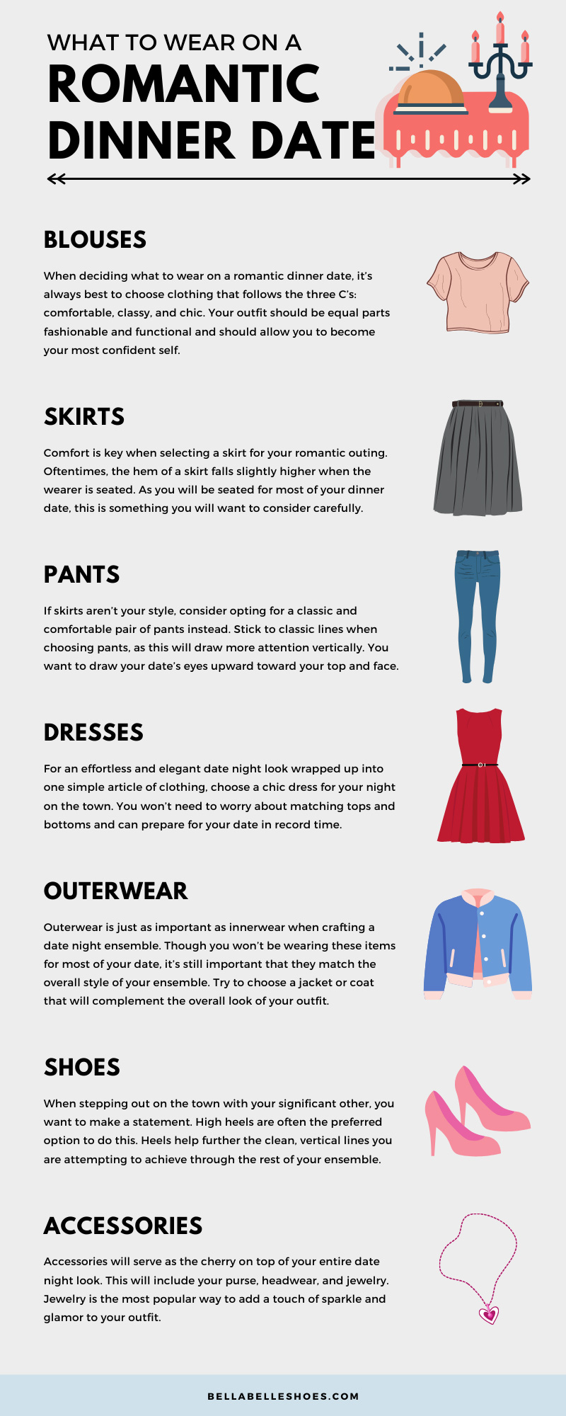 What to Wear on a Romantic Dinner