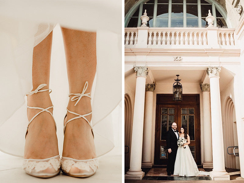 Wedding Bella Rsdhqt Reviewsreal Wearing Stunning Belle Shoes Brides srxthdCQ