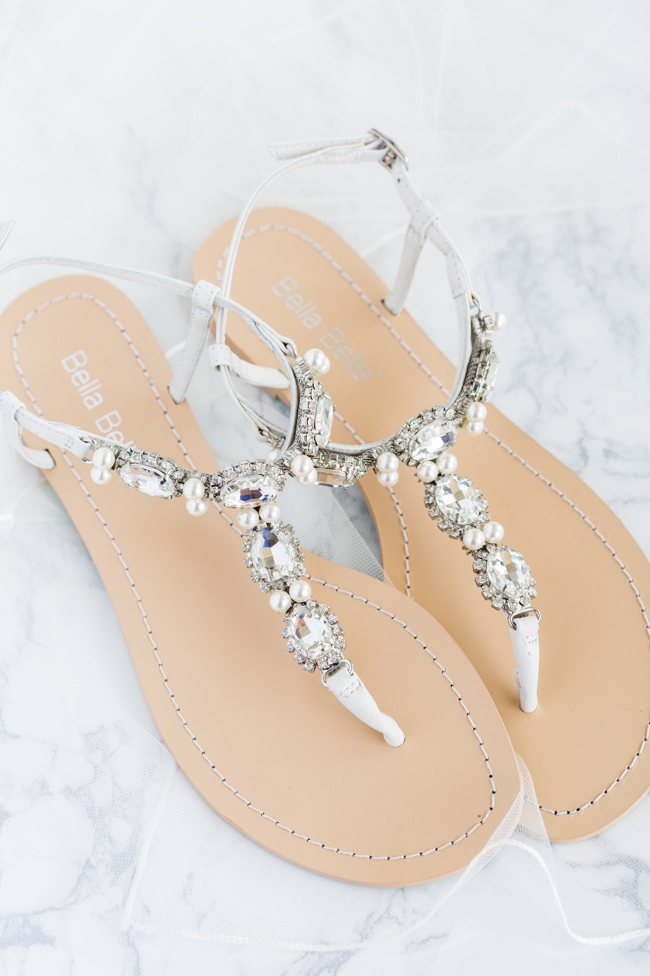 Bella Belle hera crystal embellished comfortable etsy wedding sandals