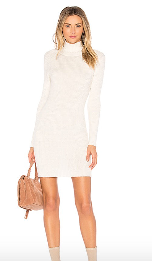 ayni cretta turtleneck dress
