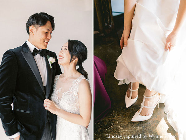 bella belle brides carolina pearl wedding shoes