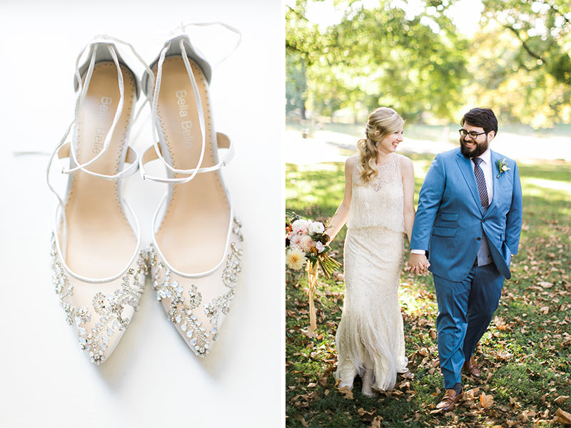9eef95e18f Bella Belle Shoes Reviews  Real Brides Wearing Stunning Wedding Shoes